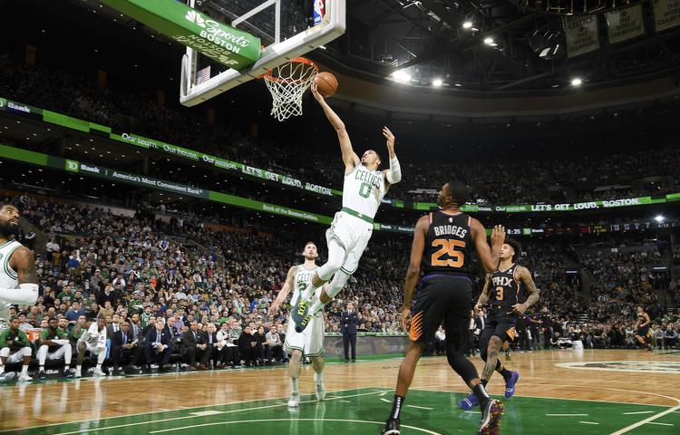 Los Boston Celtics se quedaron cortos contra los Phoenix Suns, marcus smart