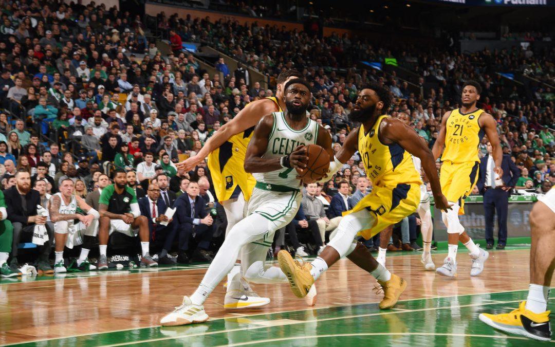 Los Celtics siguen imbatibles y aplastaron a los Pacers