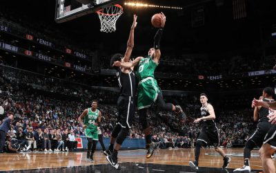Los Celtics maquillan el papelón en Brooklyn