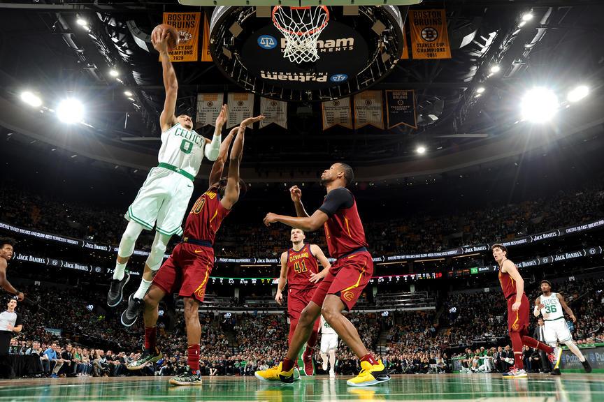 Cleveland Cavaliers frente a los Boston Celtics