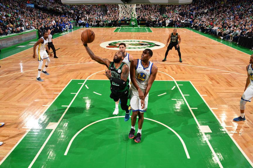 Los Warriors sacaron la experiencia y derrotaron a los Celtics en el Garden