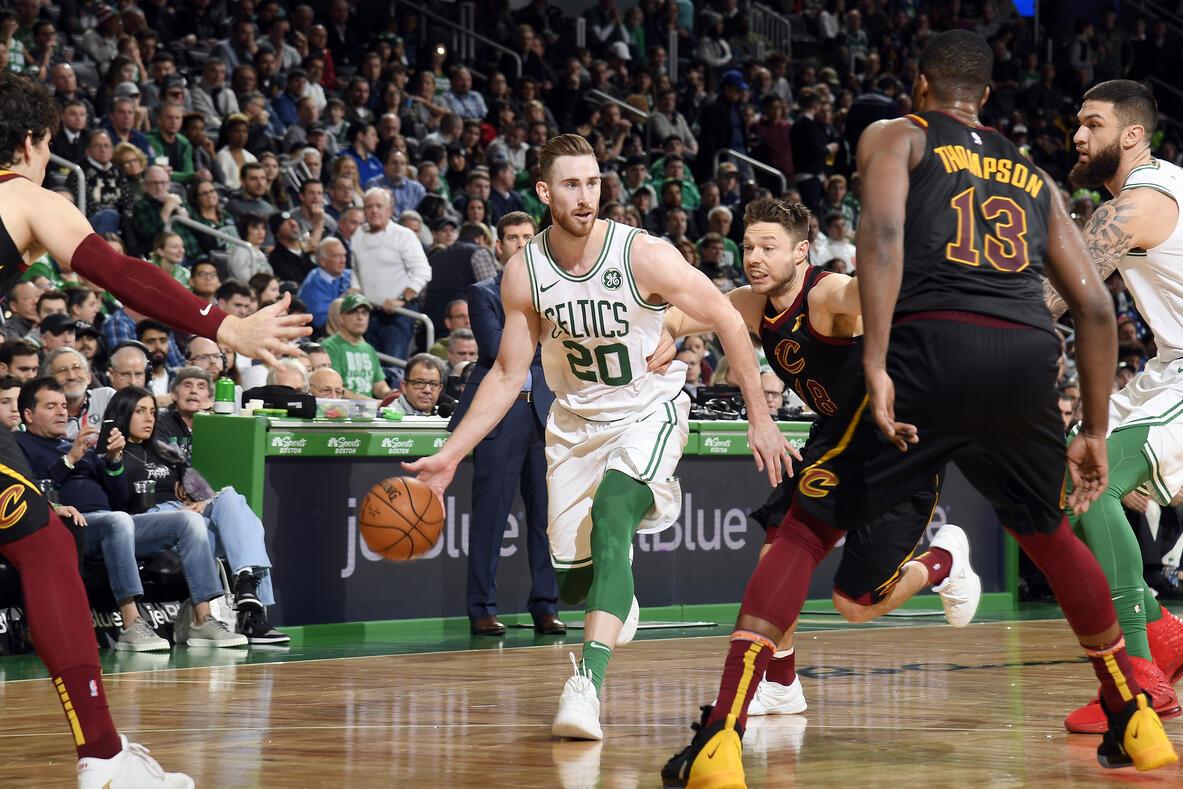 Gordon Hayward contra los Cleveland Cavaliers
