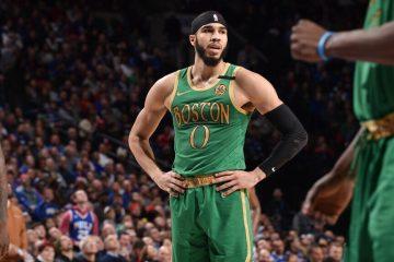Los Celtics dieron una pésima imagen en el partido contra los Philadelphia 76ers