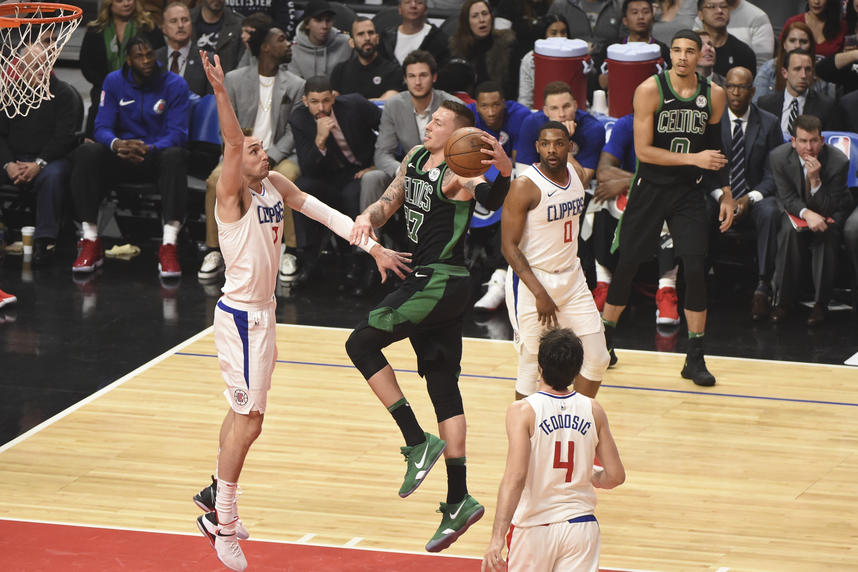 Boston Celtics v LA Clippers