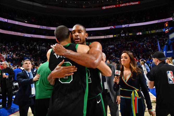 Los Boston Celtics asaltaron Philadelphia y están 3-0