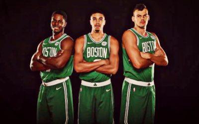 Los Boston Celtics revelan sus nuevos uniformes Nike