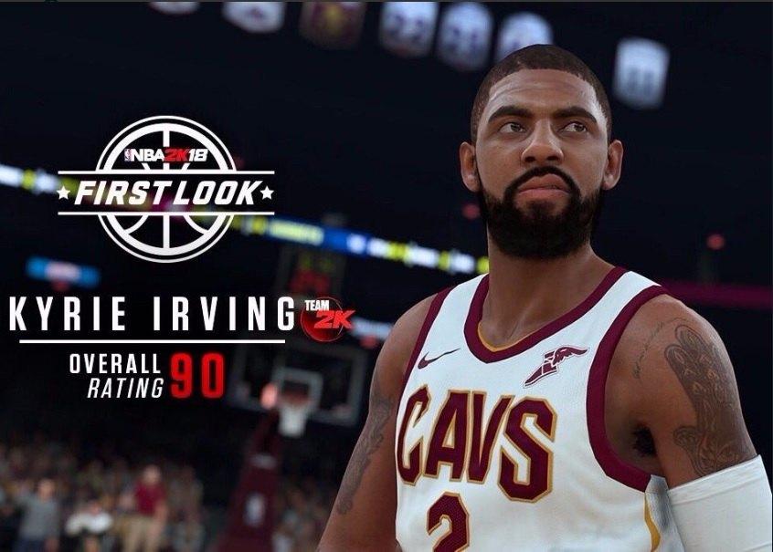 Kyrie Irving valoración NBA 2K18