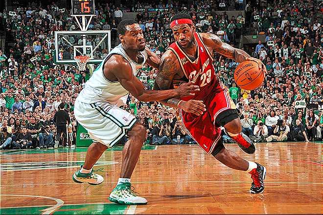 Tony Allen en los tiempos que aún formaba parte de la plantilla de los Boston Celtics