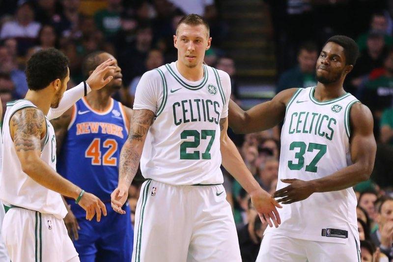 Daniel Theis se ha convertido en una herramienta fiable para los Celtics.
