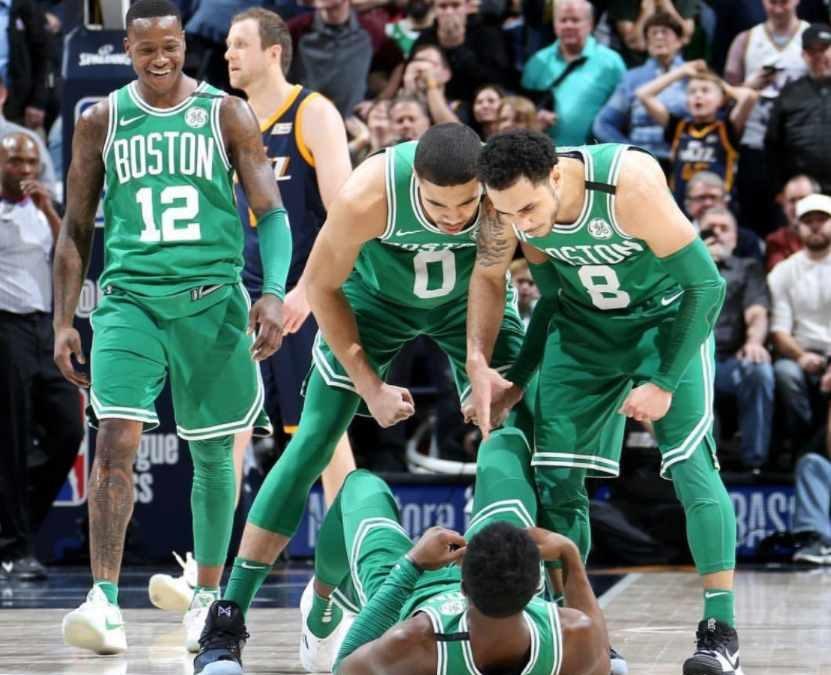 Unos mermados Celtics sorprenden a los Jazz