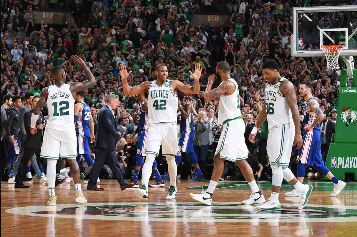 Boston Celtics Sixers Playoffs