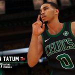 Los ratings de los Boston Celtics en NBA 2K19