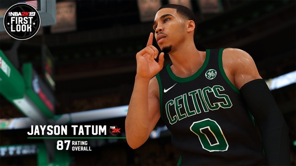 Los ratings de los Boston Celtics en NBA 2K19