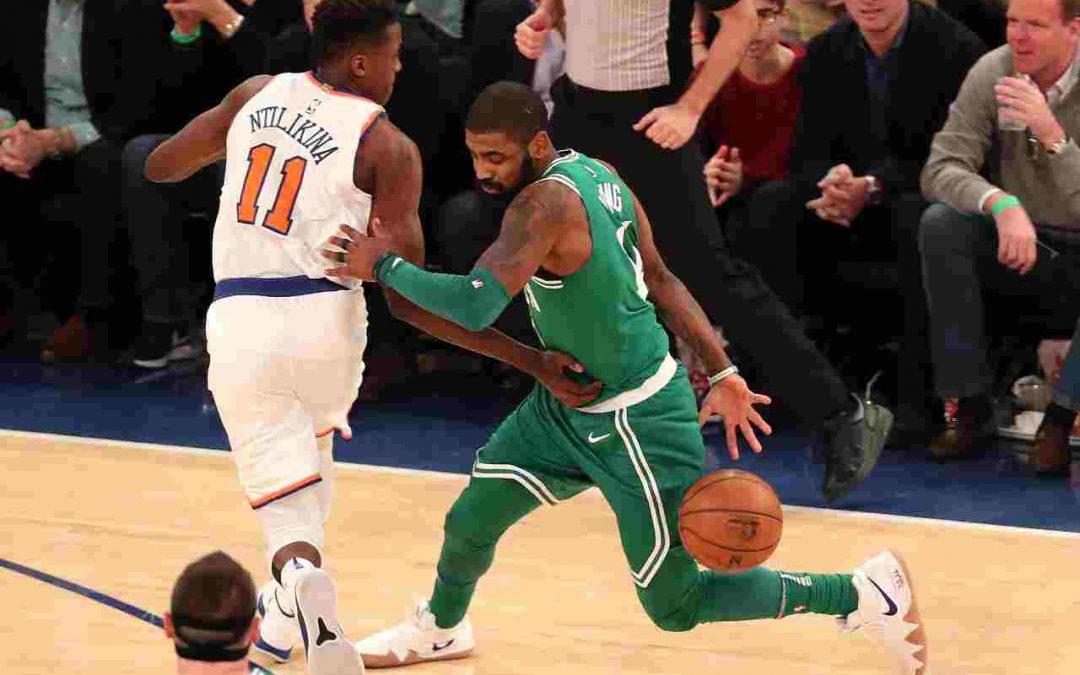 """Kyrie Irving sobre los Boston Celtics: """"¿quién no querría ser parte de esto?"""""""