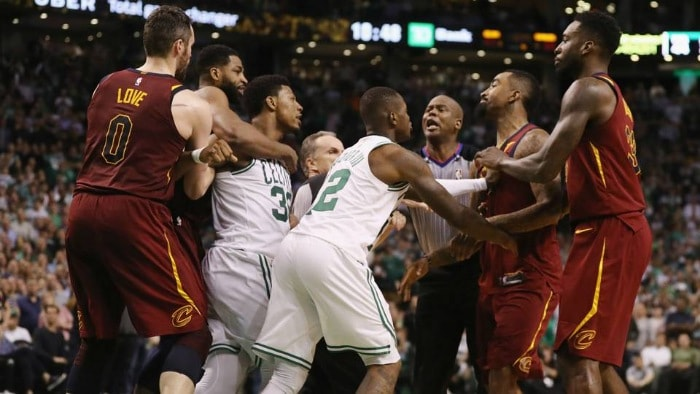 JR Smith y Boston Celtics: Una historia de violencia