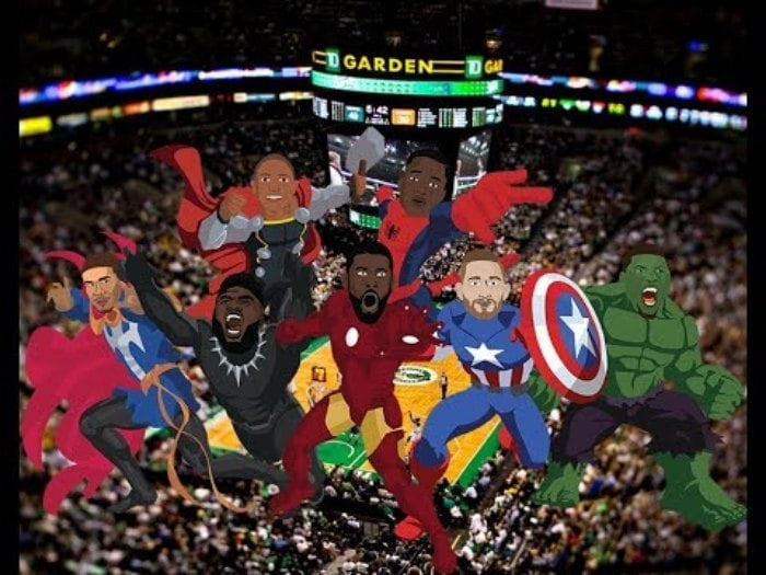 Boston Celtics Vengadores Avengers