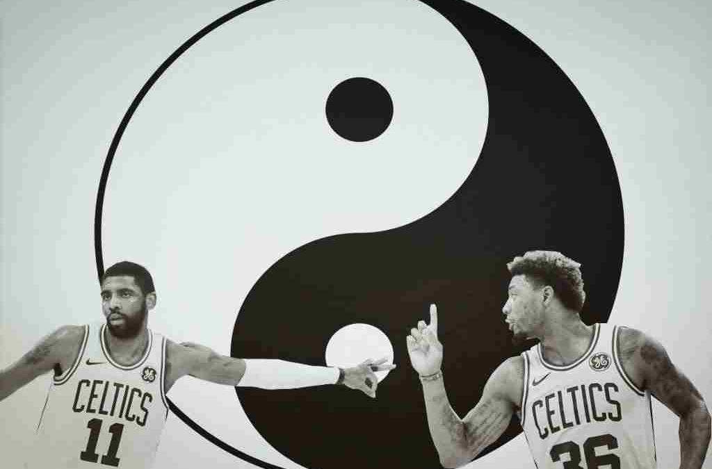 Marcus Smart y Kyrie Irving, el yin y el yang de los Boston Celtics