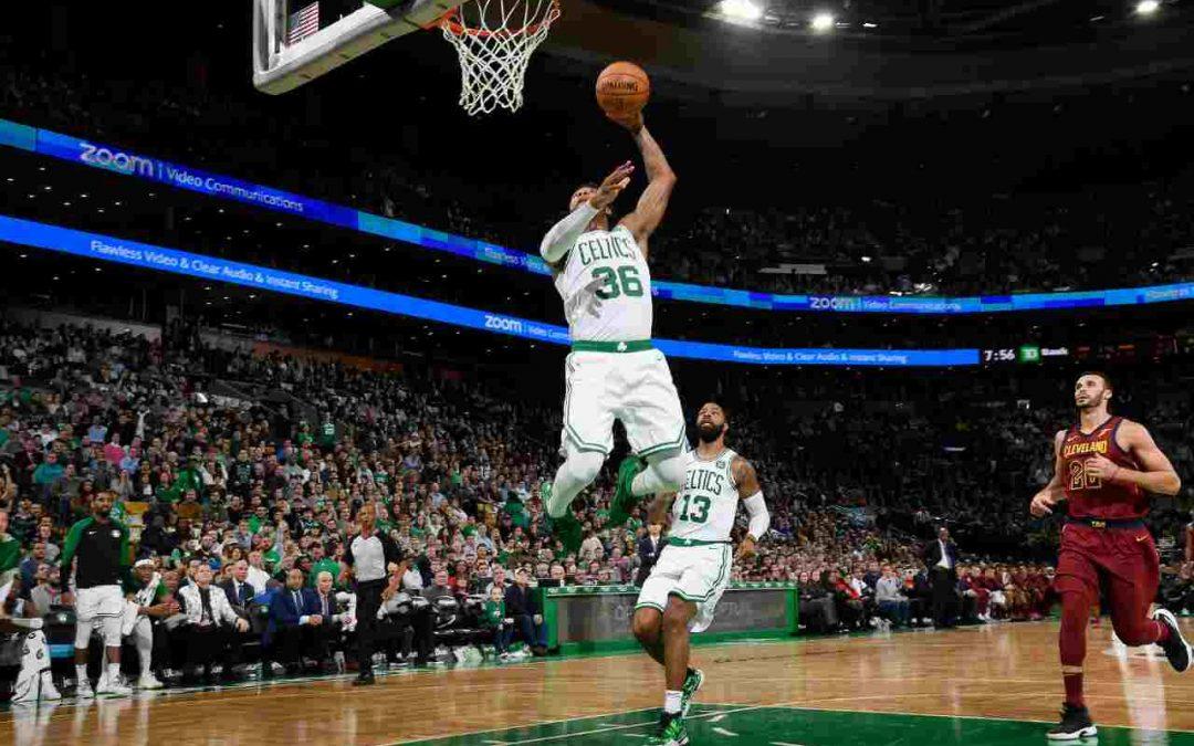 Contundente victoria de los Boston Celtics frente a Cleveland