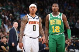 Isaiah Thomas y Terry Rozier