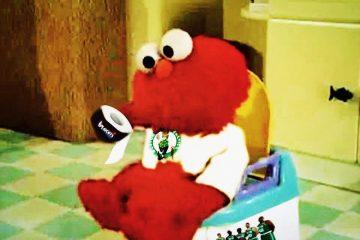 Celtics Elmo