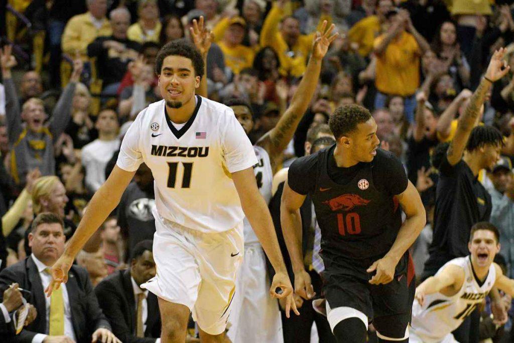 Jontay Porter, alero de la universidad de Missouri que podría ser una primera ronda de los Boston Celtics
