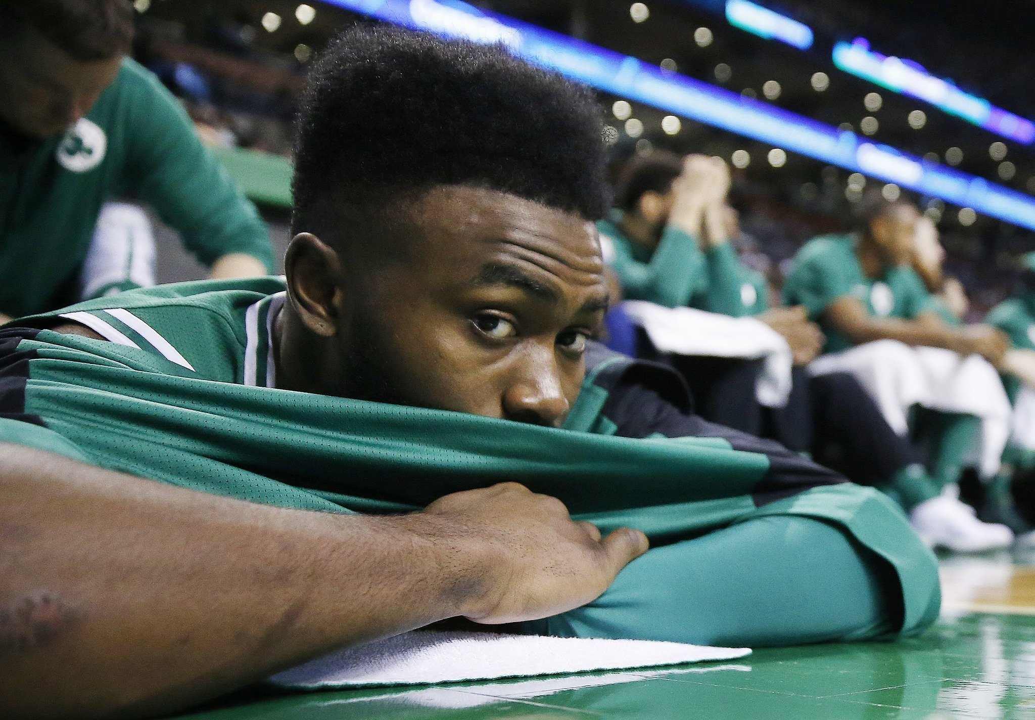 Jaylen Brown, jugador de los Boston Celtics