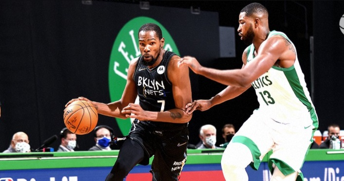 Durant Thompson Celtics Nets