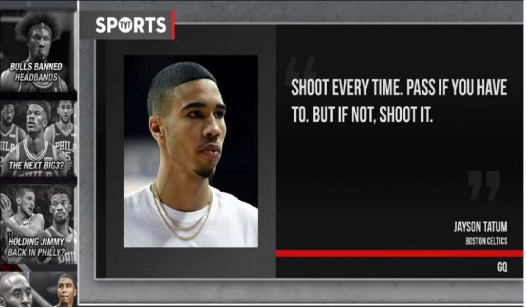 Kobe consejo a Jayson Tatum