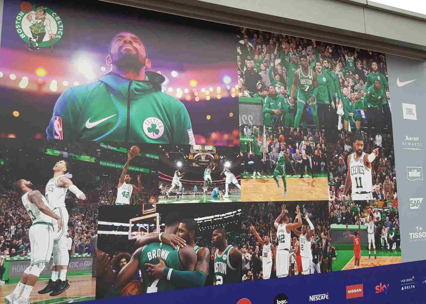 Celtics en Londres