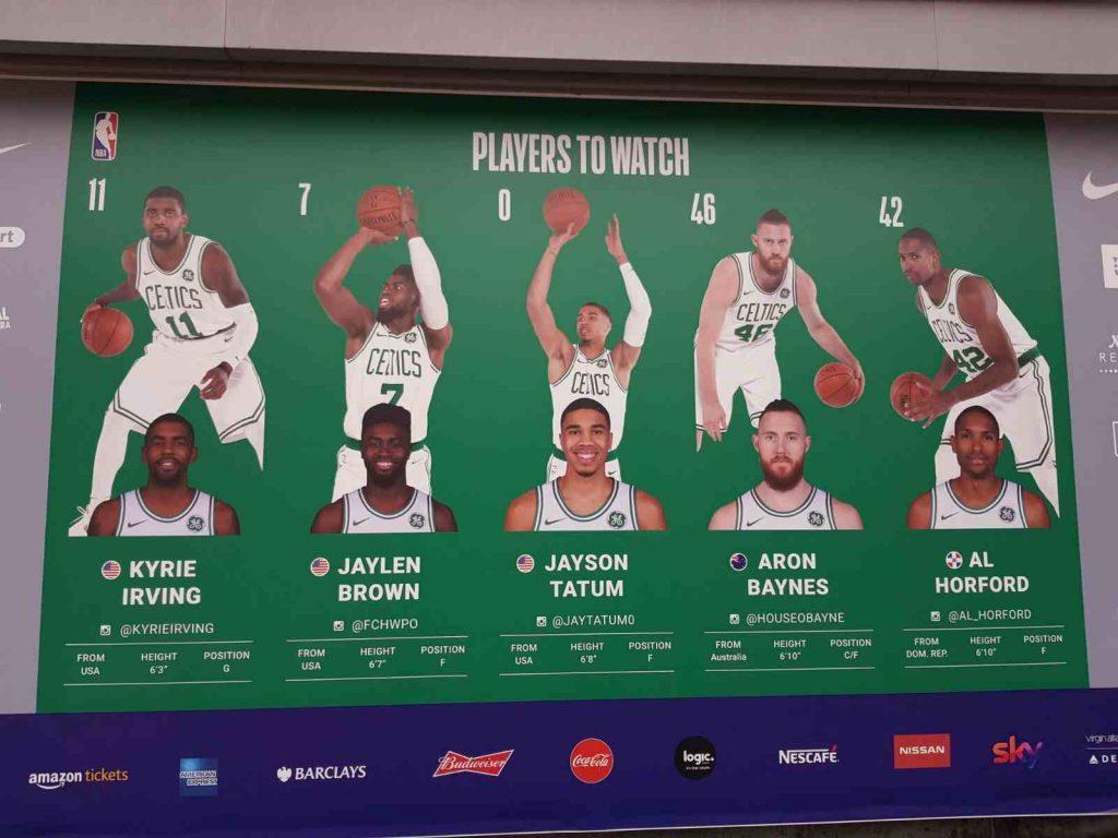 Iniciales de los Celtics